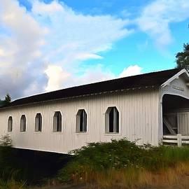 Barbara Snyder - Grave Creek Bridge Grants Pass Oregon Painting