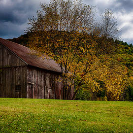 Jeff Folger - Gray weathered barn number two