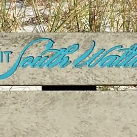 Terry Cobb - Grayton Beach Bench