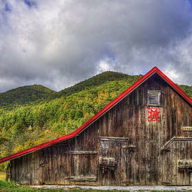 Reid Callaway - Great Smoky Mountains Barn
