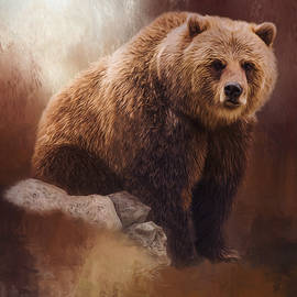 Jordan Blackstone - Great Strength - Grizzly Bear Art
