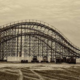 Bill Cannon - Great White Roller Coaster in Wildwood New Jersey