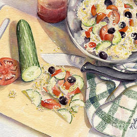 Malanda Warner - Greek Salad
