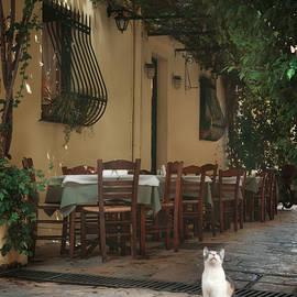 Greek streets - Corfu - Wojciech Zwolinski