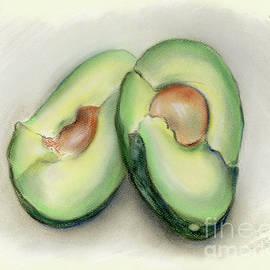 MM Anderson - Green Avocado Halves