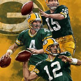 Nate Baranowski - Green Bay Packers Quarterbacks
