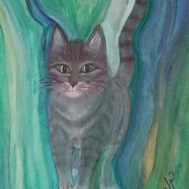 Anna Folkartanna Maciejewska-Dyba  - Green Cat
