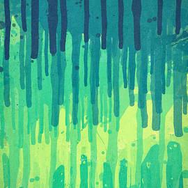 Philipp Rietz - Green Grunge Color Splatter Graffiti Backstreet Wall Background