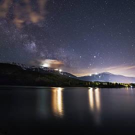 Bun Lee - Green Lake Galaxy