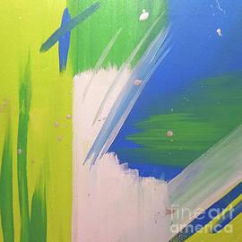 Jilian Cramb - AMothersFineArt - Green Piece