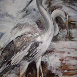 Cathy MONNIER - Great Blue Herons