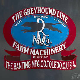 F Leblanc - Greyhound Line Logo