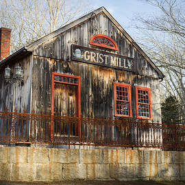 Kirkodd Photography Of New England - Grist Mill