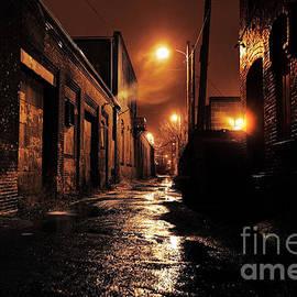 Denis Tangney Jr - Gritty Dark Urban Alleyway
