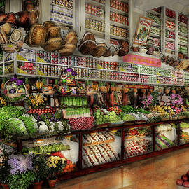 Mike Savad - Grocery - Edward Neumann - The produce section 1905