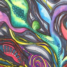 Chrisann Ellis - Groovy Series Titled My Hippy Days
