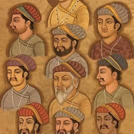 Priya Mogra  - Group portrait of kings of India