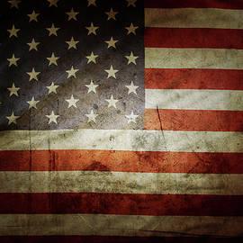 Grunge USA flag - Les Cunliffe