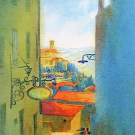 Gubbio Down the Hill - Virgil Carter