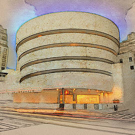 Anthony Caruso - Guggenheim Museum