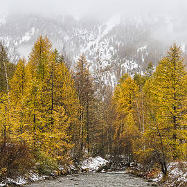 Paul MAURICE - Guisane valley in Autumn - French Alps