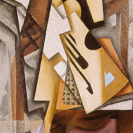 Guitar on a Chair - Juan Gris