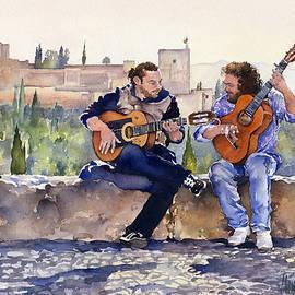 Margaret Merry - Guitarists En Plaza San Nicolas Granada