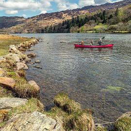 Gwynant Lake Canoeing - Adrian Evans