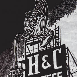 Suzanne Gaff - H and C Coffee Sign