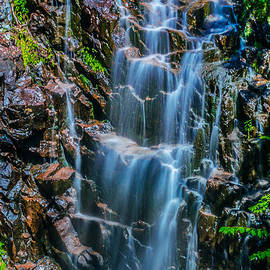 Claudia Mottram - Hadlock Falls in Acadia National Park