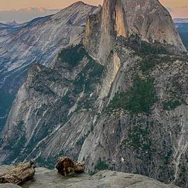 Rincon Road Photography By Ben Petersen - Half Dome at Sunset in Glacier Point Yosemite National Park