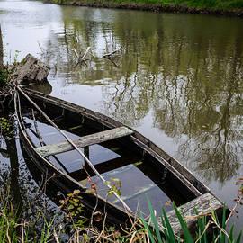 Half Sunken Rowboat