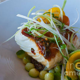 Beth Wolff - Halibut with vegtables