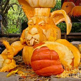 Carol F Austin - Halloween Pumpkin Sculpture