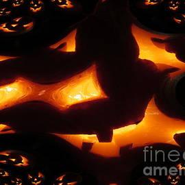 Martin Howard - Halloween Pumpkins Abstract