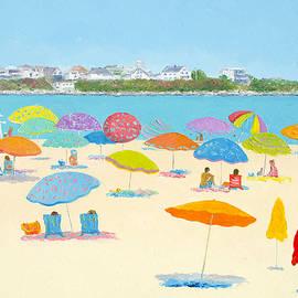 Jan Matson - Hampton Beach Umbrellas