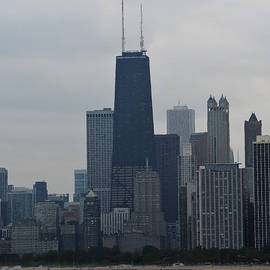 Richard Andrews - Hancock Tower and Chicago skyline