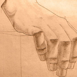 Damijana Cermelj - Hand study detail