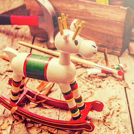 Handmade xmas rocking toy - Jorgo Photography - Wall Art Gallery