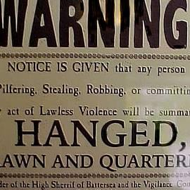 Jacquie King - Hanged Drawn Quartered