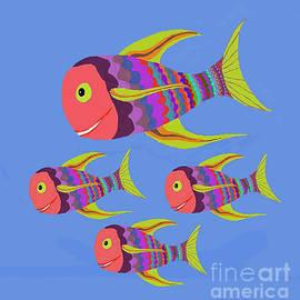 Fred Jinkins - Happy Fashion Fish