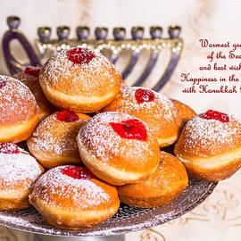 Irena Kazatsker - Happy Hanukkah Greeting Card
