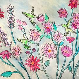 Anne Sands - Happy Hummingbirds