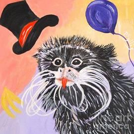 Phyllis Kaltenbach - Happy Imperor Tamin Monkey