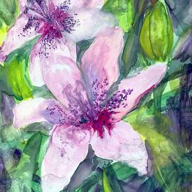 Claudia Smaletz - Happy Lilies After the Rain