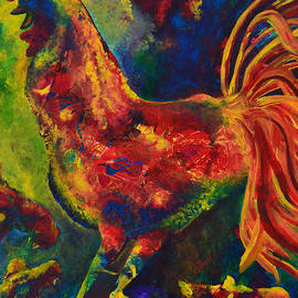 Claire Bull - Happy Rooster Family