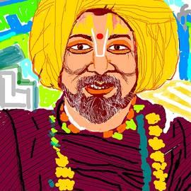 Anand Swaroop Manchiraju - Happy Saint From Kumbh Mela