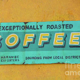 Pamela Williams - Harambe Coffee Sign