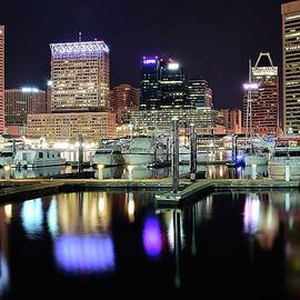 Frozen in Time Fine Art Photography - Harbor Nights in Baltimore