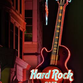 Frozen in Time Fine Art Photography - Hard Rock Red